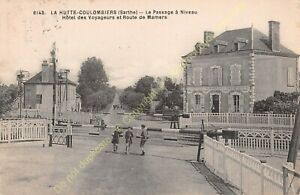 CPA-72130-La-Hut-Coulombiers-Hotel-Of-Voyageurs-Passage-IN-Level-Edit-Dolbeau