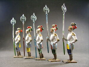 Cbg Middle Ages Knights With Halberds