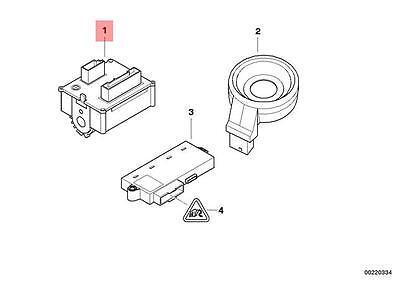 BMW E60 E60N E61 E61N E63 E63N Ignition Lock Switch GENUINE 61326937075