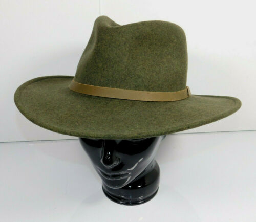 Master Hatters of Texas MHT Army Green 100% Wool C