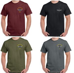 El-Regimiento-de-Paracaidas-Hombre-Camiseta-Para-Regt-paracaidista-paras-en-el-aire-en-el-pecho