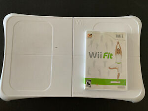 Nintendo-Wii-Fit-with-Balance-Board-Bundle-Game-Manual-Tested-Clean-Fun