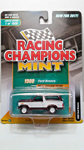RACING-CHAMPIONS-MINT-1980-FORD-BRONCO-BURGUNDY-1-64-LIMITED-EDITION-2017-NEW