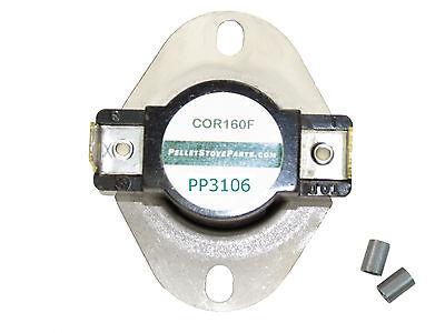 Enviro Pellet 160 176 Lo Limit Exhaust Switch Heat Sensor