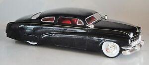 BLACK 1949 MERCURY CUSTOM STREET ROD SPECCAST DIECAST 21023