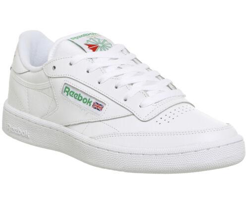 Club C de Chaussures blanches 85 et formateurs Reebok blanches lTF1Jc3K