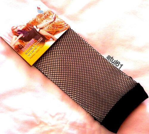 mesh Short Ladies Hosiery Fishnet High Knee Ankle,Socks Fish Net 1 Pair NEW