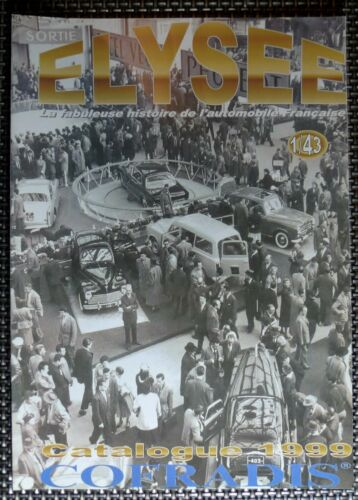 Catalogo Katalog Catalogue d/'origine ELYSEE 1999-1//43