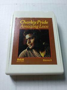 Charley Pride Amazing Love 8-Track Tape Cartridge