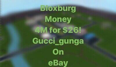 100 Legit Roblox Bloxburg Money 4 Mil For 26 Best On