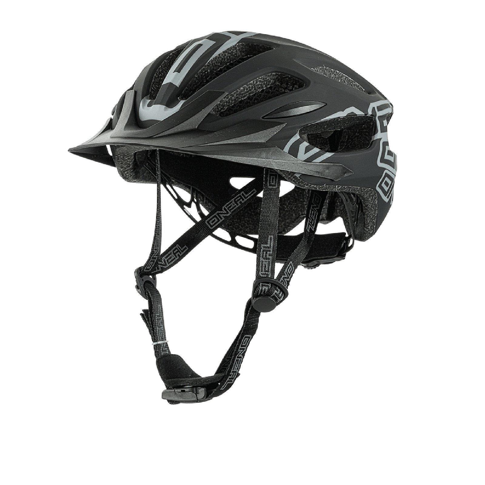 Oneal Q RL Casque MTB noir mat All Mountain Bike Enduro Trail Vélo magnétique