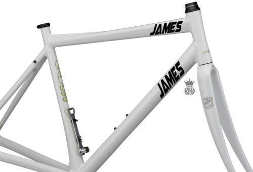 2 x Personalised Bike Name Stickers Vinyl Decals Strike Font Bicycle BMX Custom