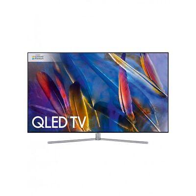 "Samsung QE65Q7FAMT QLED HDR 1500 4K Ultra HD Smart 65"" Television Silver Black,"