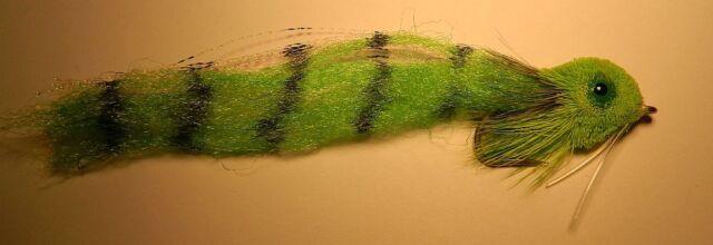 Borski's  Redfish slider  Chartreuse 1/0 Saltwater Flies