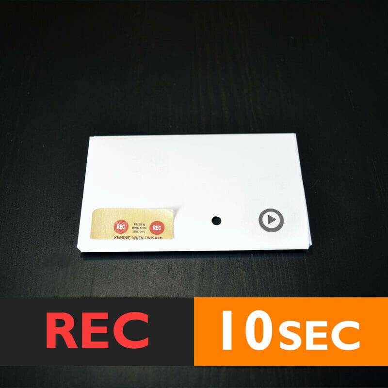 120s MAGNET RECORDABLE device voice module music sound chip push button musical