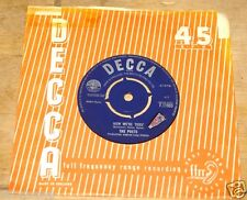 "THE POETS ~  NOW WE'RE THRU b/w THERE ARE SOME ~ UK DECCA PSYCH 7"" 1964"