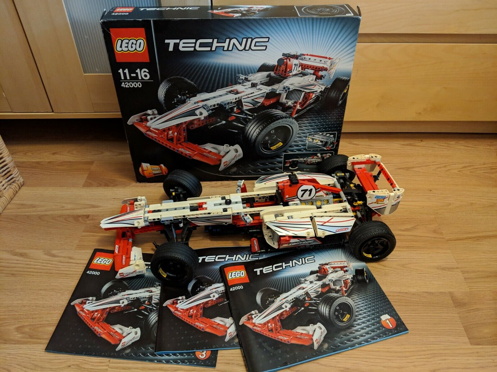 Technic Set 42000 Grand Prix Car Lego No Nmdejx6462 Lego Complete