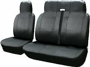 doble 2-1 Peugeot Partner-Heavy Duty de cuero Van Fundas De Asiento-Single