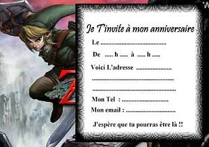 5 cartes invitation anniversaire zelda 03 jeu vido ebay 5 cartes invitation anniversaire zelda 03 jeu video stopboris Choice Image
