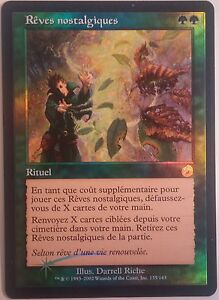 Reves-nostalgiques-PREMIUM-FOIL-French-Nostalgic-Dreams-Mtg-Magic