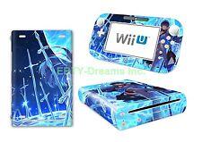 Akame ga Kill! Anime Girl General Esdeath Skin Sticker Decal Protector for Wii U