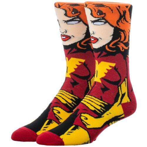 Marvel X-Men Dark ras-du-cou Phoenix Chaussettes