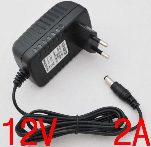 AC Converter Adapter DC 12V 2A Power Supply EU plug 5.5mm for CCTV LED 3528 5050