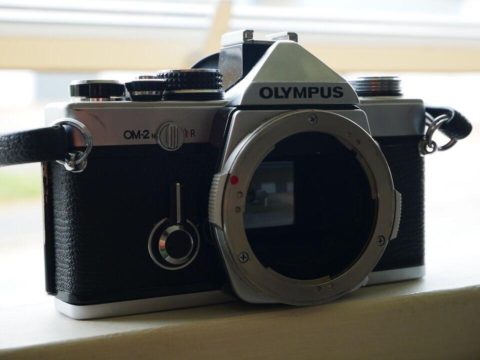 Olympus, OM2-N med Vivitar 28-135, spejlrefleks