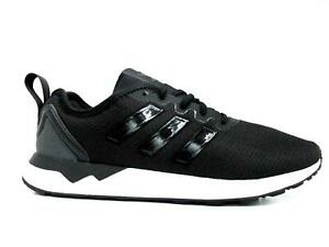 Details about Mens ADIDAS ZX FLUX ADV Black White Running Trainers AQ3350