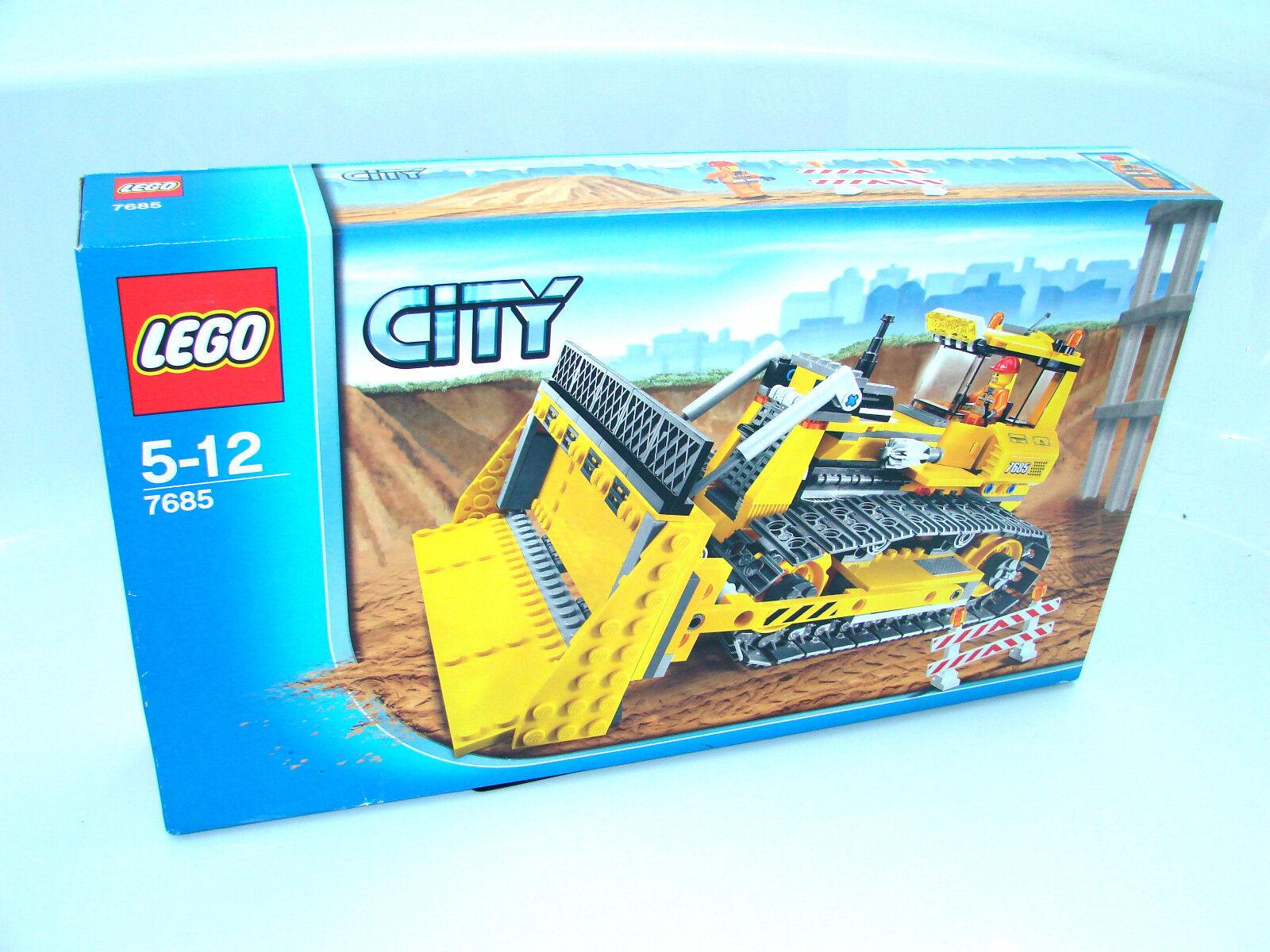 LEGO ® City 7685 Bulldozer Nouveau neuf dans sa boîte  _ unicellulaire nouveau En parfait état, dans sa boîte scellée Boîte d'origine jamais ouverte  voici la dernière