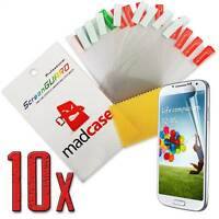 Madcase 10x Crystal Clear / Anti Glare Screen Guards for Samsung Galaxy S4 i9500
