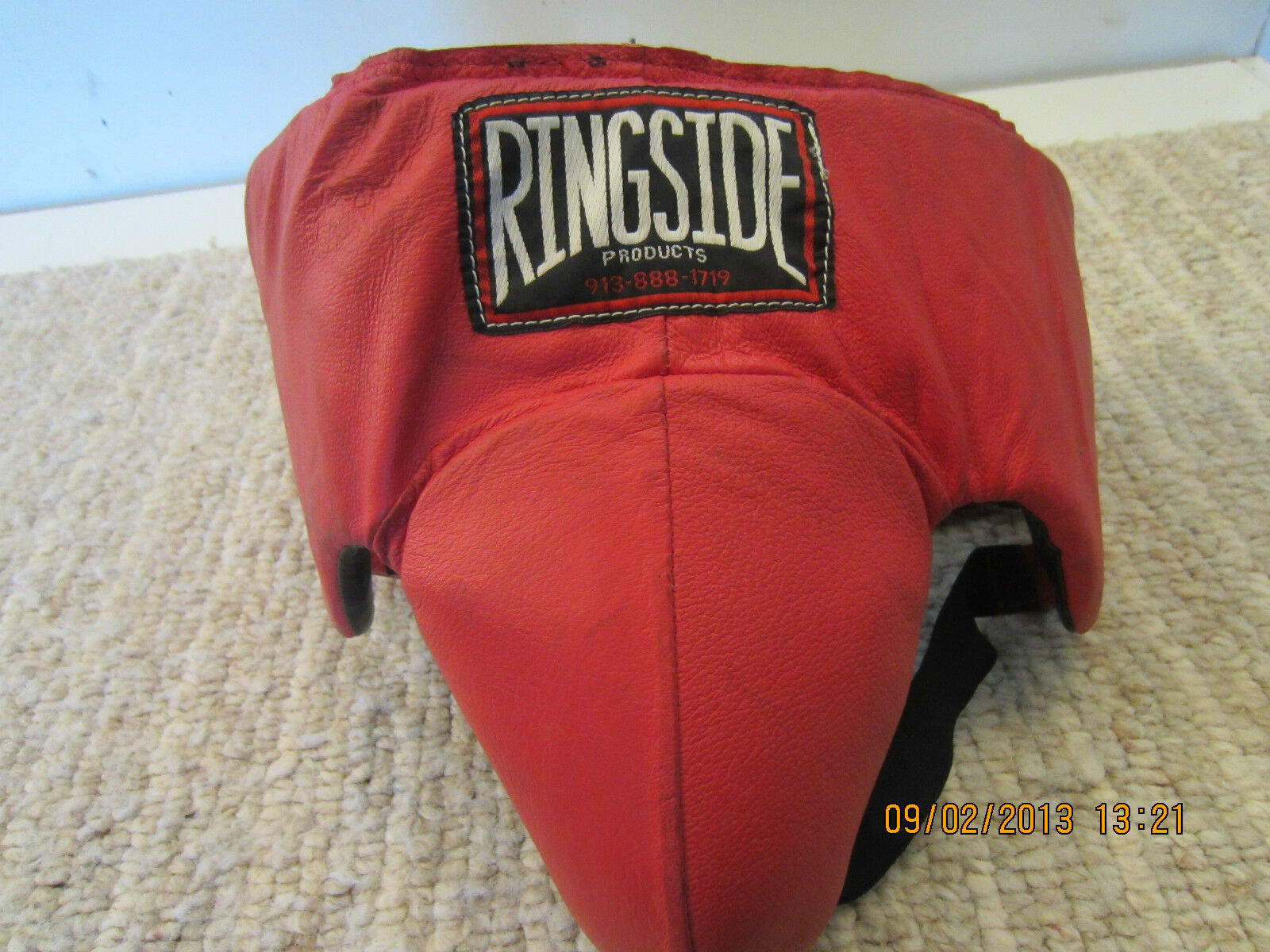 RINGSIDE , BOXING, LEATHER CredCH PredECTOR