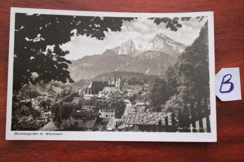 Postkarte Bayern Berchtesgadener Land