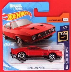 Hot-Wheels-2019-039-71-Mustang-Mach-1-2-250-neu-amp-ovp