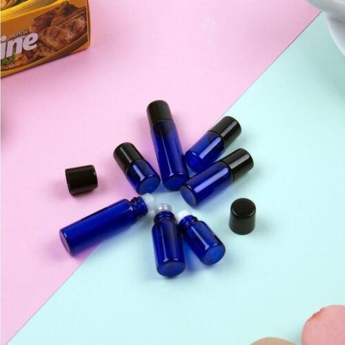 Cobolt blue roller glass bottle Best Quality,