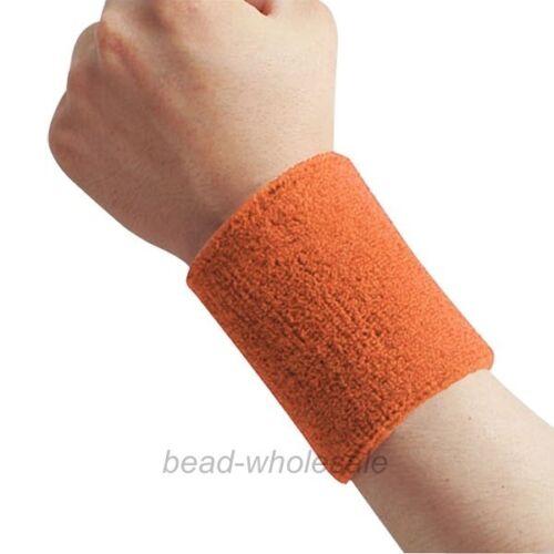 Basketball Tennis Badminton GYM Sports Sweatband Exercise Wristband Arm Band
