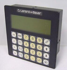 Gel-8810-0D1-Operating-Terminal-Lenord-Bauer-Used-GEL-8810