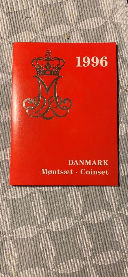 Danmark, mønter, 1996