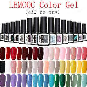 229-Colors-LEMOOC-Vernis-a-Ongles-Semi-permanent-UV-LED-Gel-Nail-Polish-Manucure