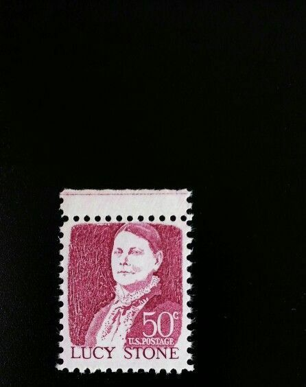 1968 50c Lucy Stone, Rights for Women Scott 1293 Mint F