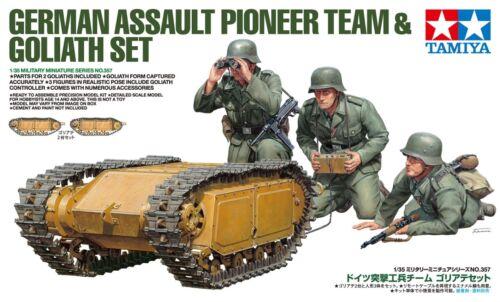 Tamiya 35357, 1:35, Deutsche Pioniere & Goliath-Set, WWII, GMK World War II