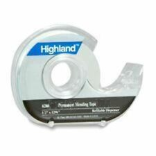 3m Highland Permanent Invisible Tape With Dispenser Mmm620018pp