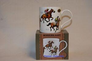 Home Cookware, Dining & Bar Supplies Horse Racing Mug by Leonardo Collection Red Rum Kauto Star Winning Post Mug
