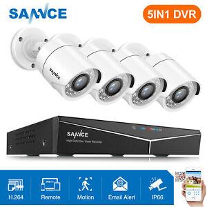SANNCE-1080P-HDMI-4CH-DVR-Outdoor-1500TVL-Security-Camera-System-IR-Night-Vision
