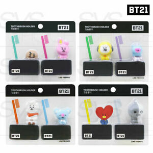 BTS BT21 Official Authentic ToothBrush Holder By YUYU + Tracking Number
