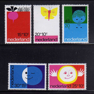 Professional Sale Holanda/netherlands 1971 Mnh Sc.b476/b480 Child Welfare Street Price Europe
