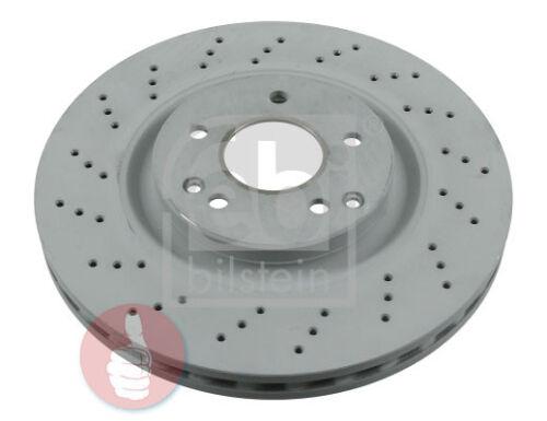 FEBI BILSTEIN Bremsscheiben 330 mm Gelocht//belüftet Vorderachse 2 Stück