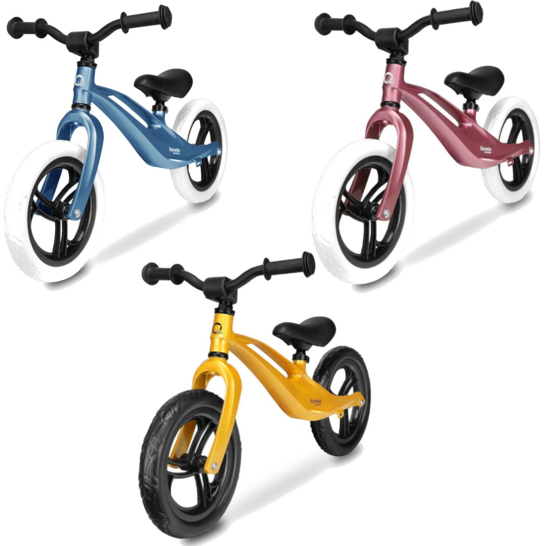 Kinderlaufrad  Fahrrad Lernlaufrad Lionelo Bart ab 18 Monaten bis zu 30 kg