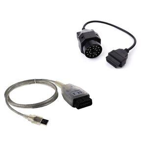 BMW-Ediabas-Inpa-USB-K-DCAN-OBD2-OBDII-EOBD-INTERFACE-OBD2-gt-OBD-20pin-Adapter