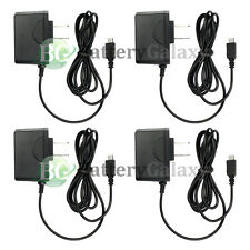 4 NEW Rapid Micro USB Battery Home Wall Travel AC Charger For Android Cell Phone